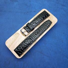 Авторский кожаный ремешок ручной работы для часов 22 мм M118-22