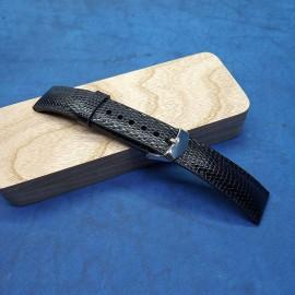 Авторский кожаный ремешок ручной работы для часов 20 мм M126-20