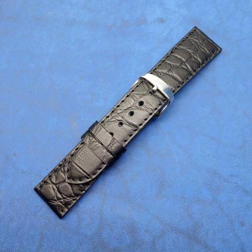 Кожаный ремешок ручной работы для часов 22 мм M133-22