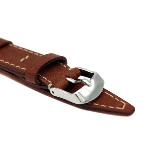 Кожаный ремешок ручной работы для часов 18 мм Remen M002-18
