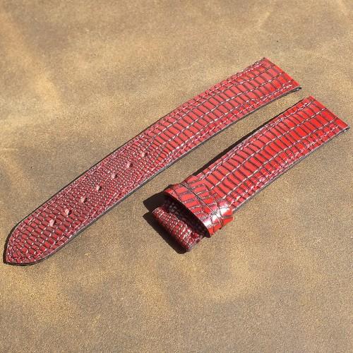 Кожаный ремешок ручной работы для часов 18 мм M065-18